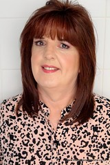 Pre train Makeover by Gordon Fawcett (janegeetgirl2) Tags: transvestite crossdresser crossdressing tgirl tv ts heels nylons glamour ankle boots summer shirt dress jane gee outside promenade brighton leopard biker jacket black