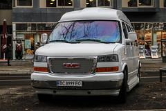 Ukraine (Lviv) - GMC Savana Explorer Limited SE (PrincepsLS) Tags: ukraine ukrainian license plate bc lviv germany berlin spotting gmc savana explorer limited se