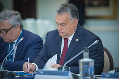 A23A8647 (More pictures and videos: connect@epp.eu) Tags: epp summit european people party brussels belgium october 2018 antonio tajani president parliament viktor orbán prime ministerhungary orban