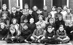 Class Photo (theirhistory) Tags: class school form pupils boy children kids girl jumper trousers jacket shoes wellies dress skirt boots