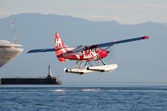 Express 307 (Jason Pineau) Tags: harbourair dehavilland dhc3 dhc3t otter cfodh 307 victoria harbour cywh britishcolumbia bc vancouverisland floatplane seaplane seaplanes
