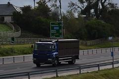 WJZ 3245 (Jonny1312) Tags: lorry truck livestock livestocktruck livestocklorry cattletruck cattlelorry sheeptruck sheeplorry pigtruck piglorry daf dafcf cloughmills frossesroad ballymena larne antrim belfast