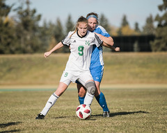 "2018_10_20PandasSoccer (15) (Don Voaklander) Tags: ""university alberta"" ""don voaklander"" voaklander edmonton alberta canada college university varsity sport sports pandas woman women women's female females academic canadian ""canada west"" ""canadian interuniversity sport"" ""u sports"" cis cw west universities athletic association"" athlete athletes soccer"