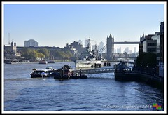 _GSD6333 (nowboy8) Tags: nikon nikond7200 london city theshard londonbridge towerbridge shard view hmsbelfast 211018 thames