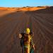 Cammello e cammelliere,Marocco.2018