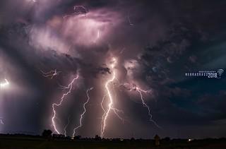 060918 -  Epic Nebraska Lightning! (Stacked)