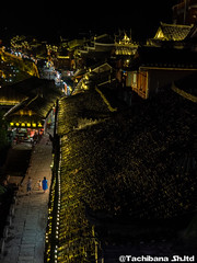 P8310192-HDR (et_dslr_photo) Tags: nightview night nightshot countryside river riverside fenghuangucheng hunang