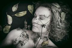 Autumnal (Annieverse) Tags: self selfportrait portrait woman självporträtt me creative fall autumn höst conceptual artphotography digitalart artist
