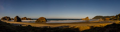 Oregon Coast on a Moonlit Night (Jeffrey Sullivan) Tags: oregon coast night photoghraphy september 2018 beach pacific ocean usa seascape canon eos 5d mark iv photo copyright jeff sullivan panorama