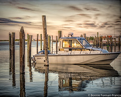 Sunset at Captree-BFF_6662- (Bonnie Forman-Franco) Tags: sunset sunsetphotography nautical boat boatbasin captreestatepark landscape landscapephotography seascape seascapes photoladybon photography nikon nikonphotography water waterscape clouds coudscape photographybywomen photographer boats pilings reflections reflectons sky hdr