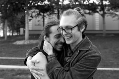 The lovers (Karsten Fatur) Tags: rait model models malemodel couple love ltgbtq queer queerart bw blackandwhite monochrome russia moscow europe travel travelphotography gaylove lgbt
