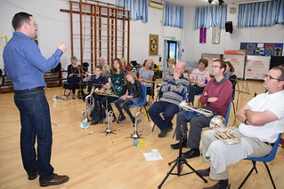 Owen takes the Flugel and Tenor Horn Workshop