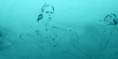 life class model 145 troycrisswell (troycrisswell) Tags: art drawings girl lifeclass troycrisswell study sketch