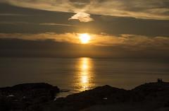 Golden Sunset (CraDorPhoto) Tags: canon6d sunset gold sun clouds sky water sea mediterranean coast coastline dwejra gozo malta seascape landscape