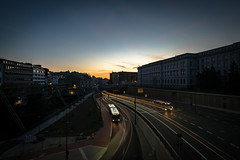 döppersberg (öppel) Tags: wuppertal germany night lights city morning sunrise sky streets europe nd filter haida nikon tamron