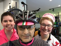 Selfie with Sophie & Riley (Mr.TinDC) Tags: me ted selfie mrtindc people friends cyclists contes biking