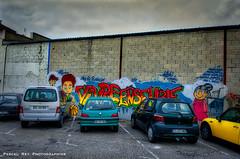 """Vivre ensemble"" _DSC4608 ""Why can't we live together?"" Timmy Thomas. (Pascal Rey Photographies) Tags: streetart streetphotography street inthestreets rues rurex ruexperienced danslesrues artderue walls wallpaintings walldrawings fresquesmurales fresquesurbaines fresques peinturesmurales peinturesurbaines écritsurlemur popart pop arturbain urbanart urbanphotography urbain pascalreyphotographies nikon d700 aurorahdr aurora auvergnerhônealpes beaurepaire pascalrey photographiecontemporaine photos photographie photography photograffik photographiedigitale photographienumérique photographieurbaine voitures cars coches parkinglot parking"