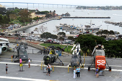 2018-090364 (bubbahop) Tags: 2018 amtraktrip sandiego california usa ussmidway cv41 museum aircraftcarrier flight deck ship navy helicopter