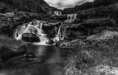 EV Cascading Falls (Nature In Landscapes) Tags: fineart longexposure monochrome blackandwhite rivers lakes reservoirs dams water nature elanvalley midwales unitedkingdom