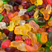 Close Up on the Gummy Bear Candies