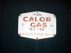 Main Calor Gas Dealer (the justified sinner) Tags: justifiedsinner calorgas dealer westmidlands panasonic 17 20mm gx7 wolverhampton old sign signs