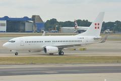 D-AWBB PrivatAir Boeing 737-700 EGKK 20/7/18 (David K- IOM Pics) Tags: egkk lgw london gatwick airport dawbb boeing 737 737700 b737 ba british airways privat air privatair
