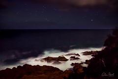 Moruya Headland night (caralan393) Tags: moruya night waves stars lumi