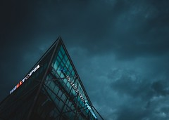 Storm in the high seas :D (Pavel Valchev) Tags: ex dn building sofia sigma sony ilce emount skyscape landscape sky seas storm 19mm wideangle af lens lightroom photoshop