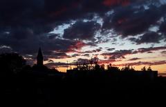 Sunset (NovemberAlex) Tags: brixton clouds colour sunset urban silhouette