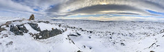 No Barriers From the Wind (stevegilliesphotography) Tags: canada iqaluit nunavut arctic cold landscape panorama snow travel tundra winter ca sunset sea ocean sky