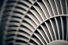 Chill! (iamunclefester) Tags: vacation holiday croatia krk otokkrk toned blackandwhite monochrome chill ac airconditioner air conditioning curvy curve abstract dof macro