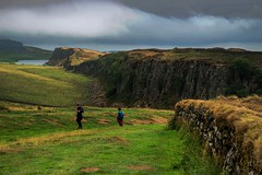 Hadrianus wall, England (PeterSundberg66 former PeterSundberg65) Tags: wall hadrianus england people grass green sky walking romans landscape mountain field animal forest road sonyflickraward