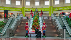 Chattanooga Airport Christmas (clif_burns) Tags: airport cha chattanoogaairport christmas