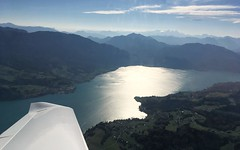 Traunsee (Upper Austria) (stecker.rene) Tags: traunsee lake traun salzkammergut traunkirchen water aqua flight vfr morning autumn fall 2018 flying reflection mountains mountain hill alps alpen kalkalpen limestone sky clouds wing airfoil katana dv20 oecbr oberösterreich upperaustria austria österreich iphonese salzkammergutsee aerialview birdeye birdview luftbild luftaufnahme generalaviation ga aviation dachstein dachsteinmassiv