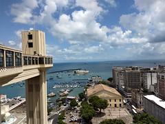 Salvador meu amor (Viva as Cores - Márcia Aki) Tags: nwn clouds sea elevador salvador bahia brasil nordeste