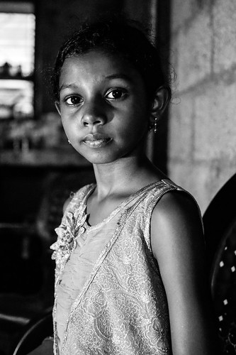 Un regard. Kerala, India, 2018