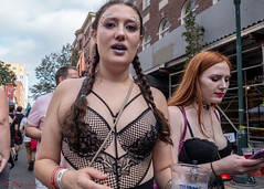 Dressed To Party (ViewFromTheStreet) Tags: allrightsreserved blick blickcalle blickcallevfts calle comingout copyright2018 dressedtoparty gay gayborhood nationalcomingoutdayfestivalnationalcomingoutday nationalcomingoutdayfestivalnationalcomingoutdayfestiva outfest2018 pennsylvania philadelphia photography stphotographia streetphotography viewfromthestreet amazing beads bustier candid celebration classic cleavage corset female girl glitter nightwear outfest party ponytail portrait pride street streetportrait vftsviewfromthestreet woman ©blickcallevfts ©copyright2018blickcalle national coming out day festival daynational