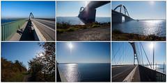 Fehmarnsundbrücke  - zoom it (mohnblume2013) Tags: fehmarn fehmarnsundbrücke brücke bauten architektur ostsee grosenbrode dänemark schleswigholstein fehmarnsund vogelfluglinie puttgarden