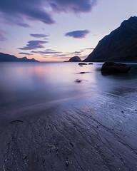 Haukland Beach (Andrew G Robertson) Tags: haukland beach sunset lofoten islands norway