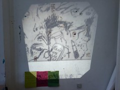 Projection (Alice Gegere) Tags: projection cac youthcollective text