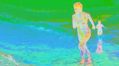 Bildschichten am Strand 08 (wos---art) Tags: bildschichten ostsee strand akt baden schwimmen frauenakt sommer frühling herbst winter nude nackt badende ohne unbekleidet