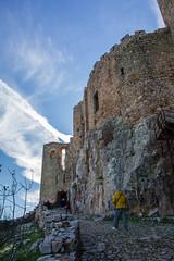Rampa de entrada 2ª muralla (Rafael Gomez - http://micamara.es) Tags: puerta segunda muralla exterior sacro convento y castillo de calatrava la nueva aldea del rey ciudad real 01