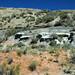 Big Blue Bentonite (Sentinel Butte Formation, Upper Paleocene; Coal Vein Trail, Roosevelt National Park, Little Missouri Badlands, North Dakota, USA) 4