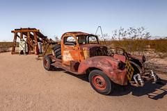 Desert Hound (Pedalhead'71) Tags: abandoned california desert ghosttown goffs mojave route66 rural essex unitedstates us