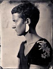 Lauriane III (Troisième type) Tags: portrait collodion humide wetplate 180mm busch pressman 4x5 lelabodutroisième