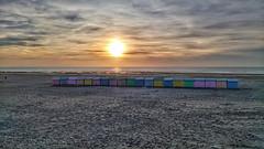 Quend plage sunset (Gwenael B) Tags: plage sunset mer sea beach nord quend sky sand sonyxperia coucherdesoleil clouds landscape paysage sable ocean ciel eau picardie
