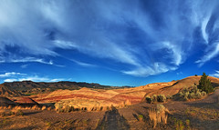 *** PAINTED HILLS *** (Andre Schwabe) Tags: johndayfossilbedsnationalmonument oregon outdoor sunset valley hiking