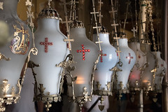 Lanterns (=Mirjam=) Tags: nikond750 jerusalem israel lamps lanterns heiligegrafkerk oldcity citytrip travels september 2018