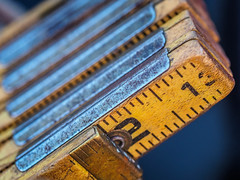 Wooden Measuring Stick (ildikoannable) Tags: macromondays measurements measuringstick wood numbers macro closeup texture hdr