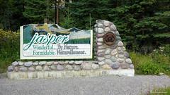 Welcome to Jasper, Icefields Parkway Alberta, Canada (Black Diamond Images) Tags: jasper icefieldsparkwayalberta canada icefieldsparkway alberta sign tourism scenictours scenic 2012 welcometojasper jaspernationalpark banfftojasper travelalberta albertatravel albertaholiday holidayalberta